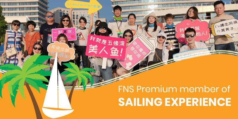 FNS Premium member of sailing experience