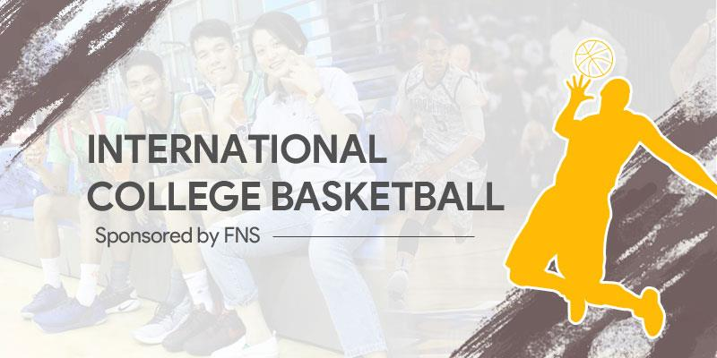 International college basketball sponsored by FNS